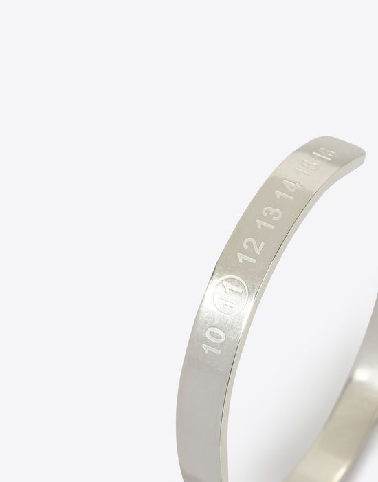 MAISON MARGIELA Silver logo bracelet Bracelet [*** pickupInStoreShippingNotGuaranteed_info ***] r