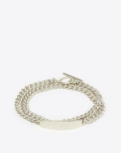 MAISON MARGIELA Bracelet U Silver tag bracelet f