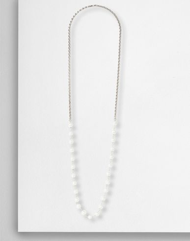 MM6 by MAISON MARGIELA Necklace D Chain and resin pearl necklace f
