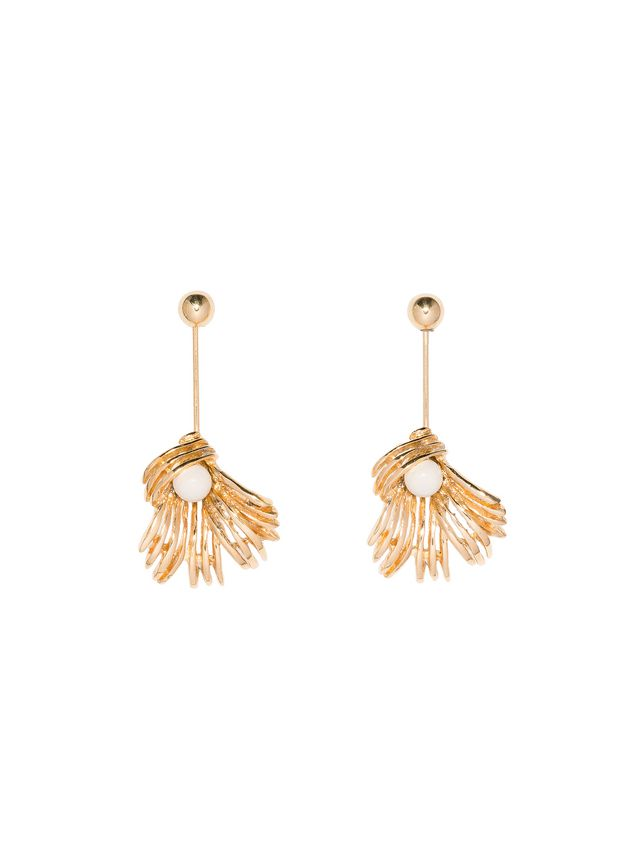 us back s n store screw marni flower earrings shop online women e