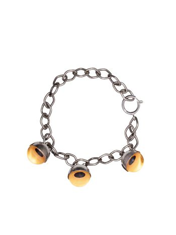 Marni Sphere bracelet in metal yellow Man