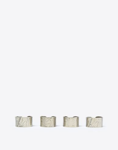 MAISON MARGIELA Ring U Silver quadruple cuff rings f
