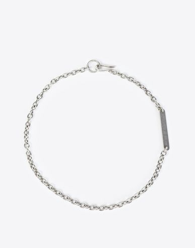 MAISON MARGIELA Necklace U Anonymous ID tag necklace f