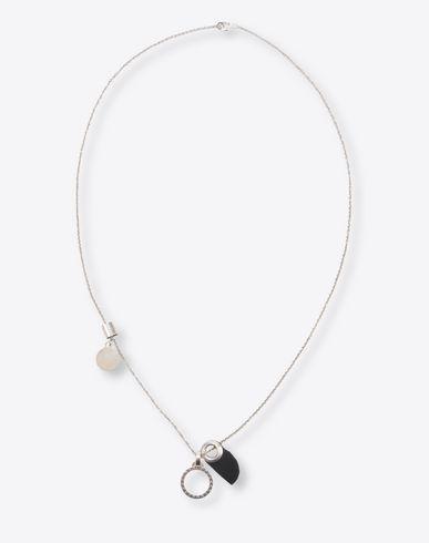 MAISON MARGIELA Necklace U Silver 3 pendant necklace f