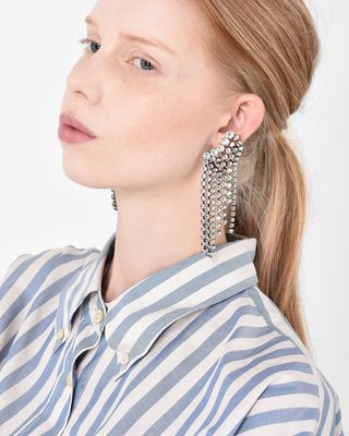 ISABEL MARANT EARRINGS Woman Crystal stud earrings d