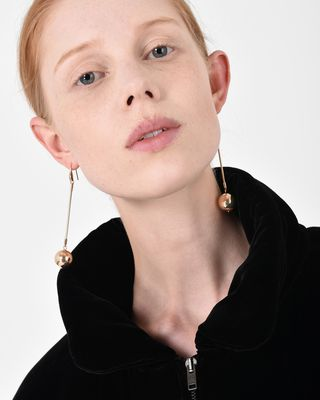 ISABEL MARANT EARRINGS D HARVEY sphere earrings  d