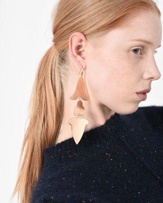 ISABEL MARANT EARRINGS D EX VOTO golden earrings d
