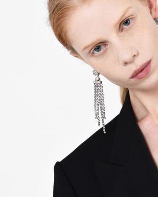 ISABEL MARANT EARRINGS Woman HOLLY earrings adorned with crystals d