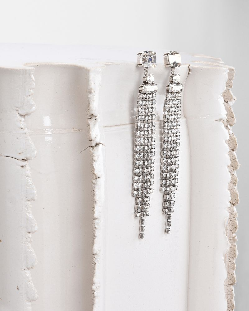 HOLLY earrings adorned with crystals ISABEL MARANT