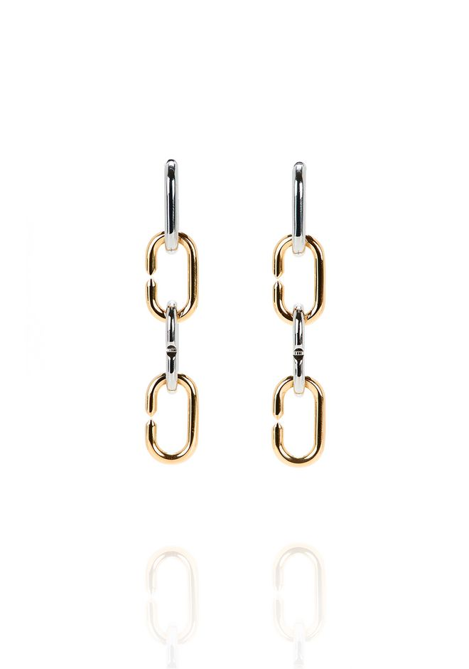 ALEXANDER WANG jewelry BROKEN LINK EARRINGS