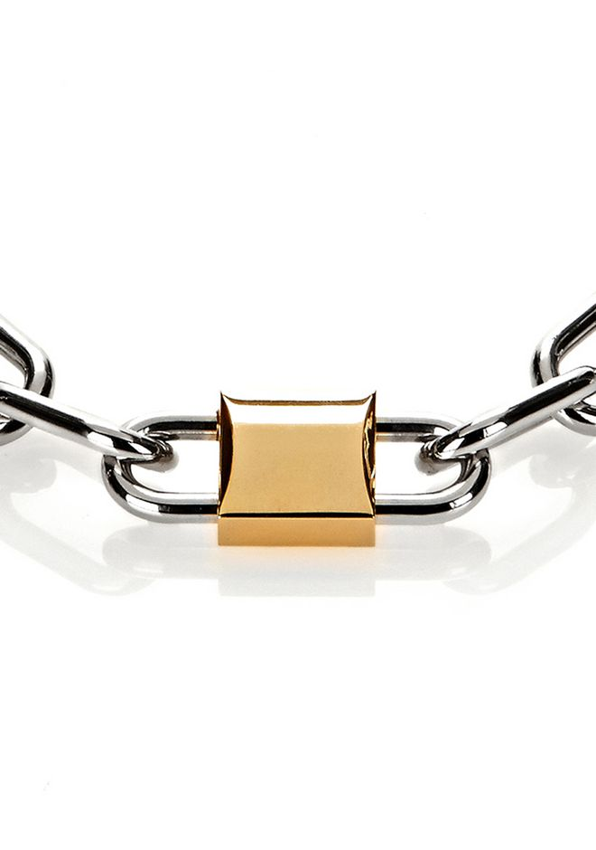 ALEXANDER WANG DOUBLE LOCK NECKLACE 首饰 Adult 12_n_e