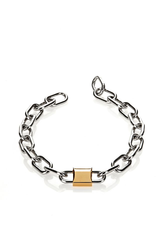 ALEXANDER WANG DOUBLE LOCK NECKLACE 首饰 Adult 12_n_r