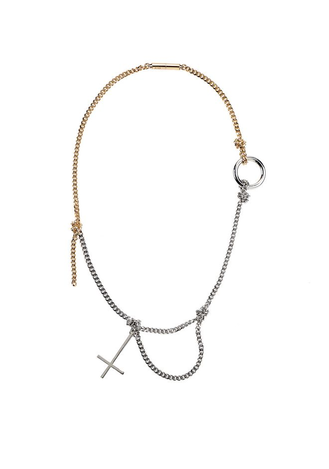 ALEXANDER WANG jewelry CROSS NECKLACE