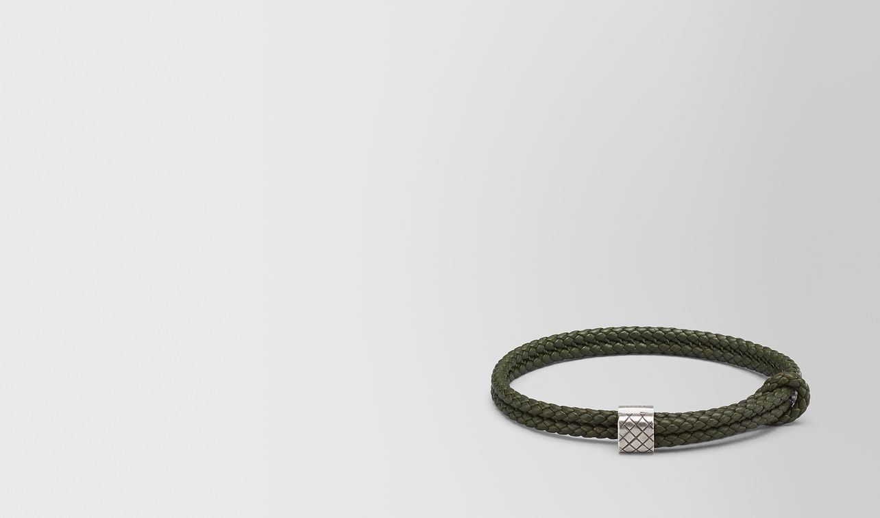 moss intrecciato nappa bracelet landing