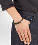 moss intrecciato nappa bracelet Front Detail Portrait