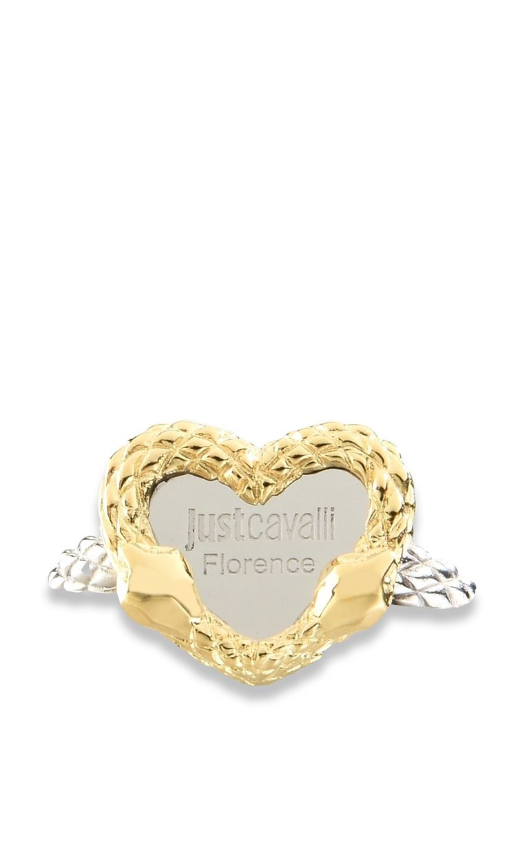"JUST CAVALLI ""Just Love"" LOGO theme ring Ring Woman e"