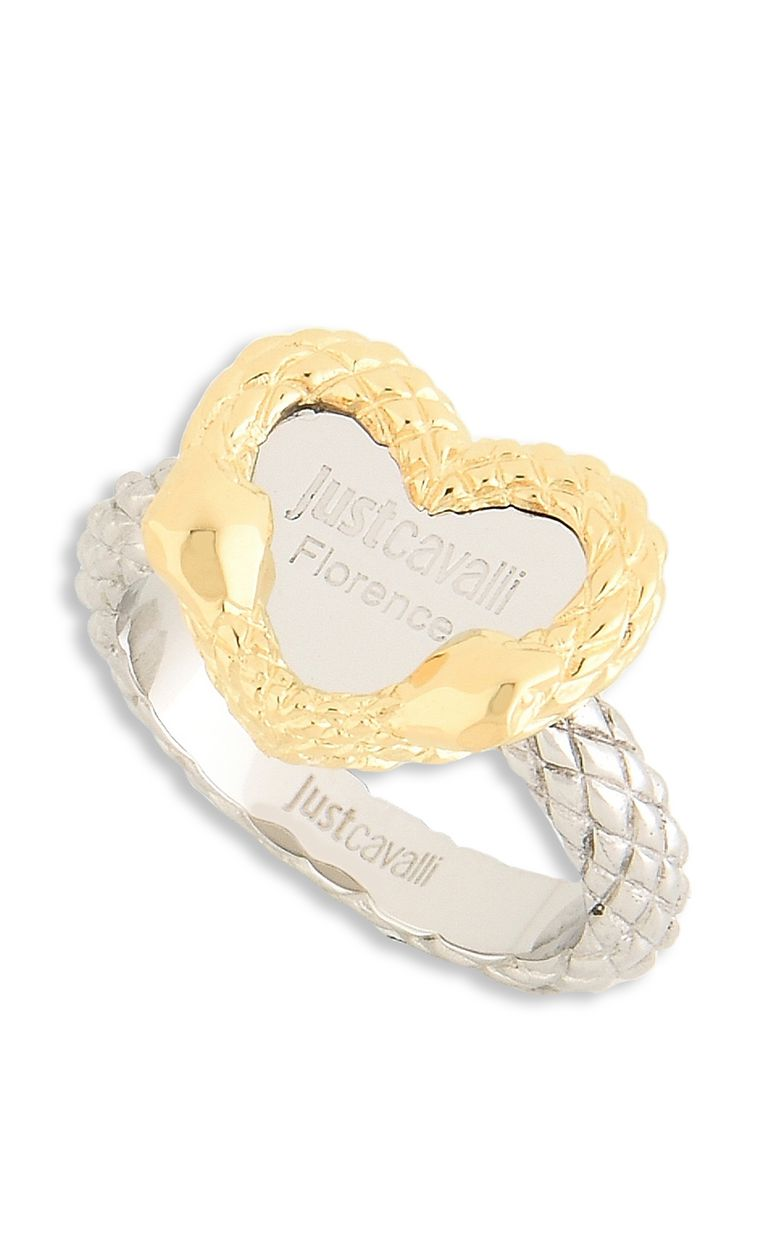 "JUST CAVALLI ""Just Love"" LOGO theme ring Ring Woman f"