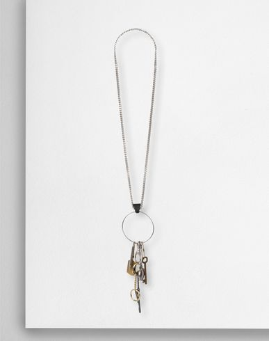 MAISON MARGIELA Oversized pendant necklace Necklace D f