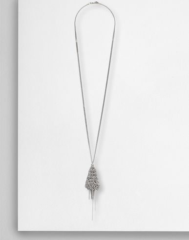 MM6 by MAISON MARGIELA Necklace D Fringe chain pendant necklace f