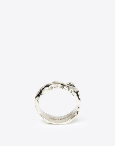 MAISON MARGIELA Ring U Vintage finish brass ring f