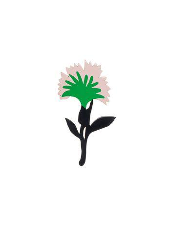 Marni FLOWER BROOCH IN RESIN Woman