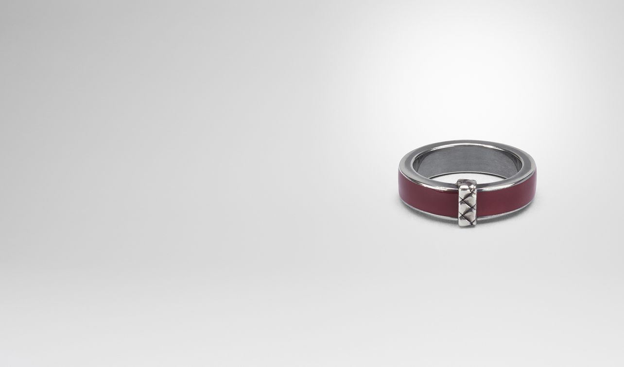 barolo enamelled silver ring landing