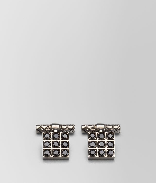 BOTTEGA VENETA SILVER CUFFLINK Other Jewellery Man fp