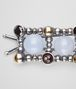 BOTTEGA VENETA MULTISTONE HAIRCLIP Other Silver Accessory D ap