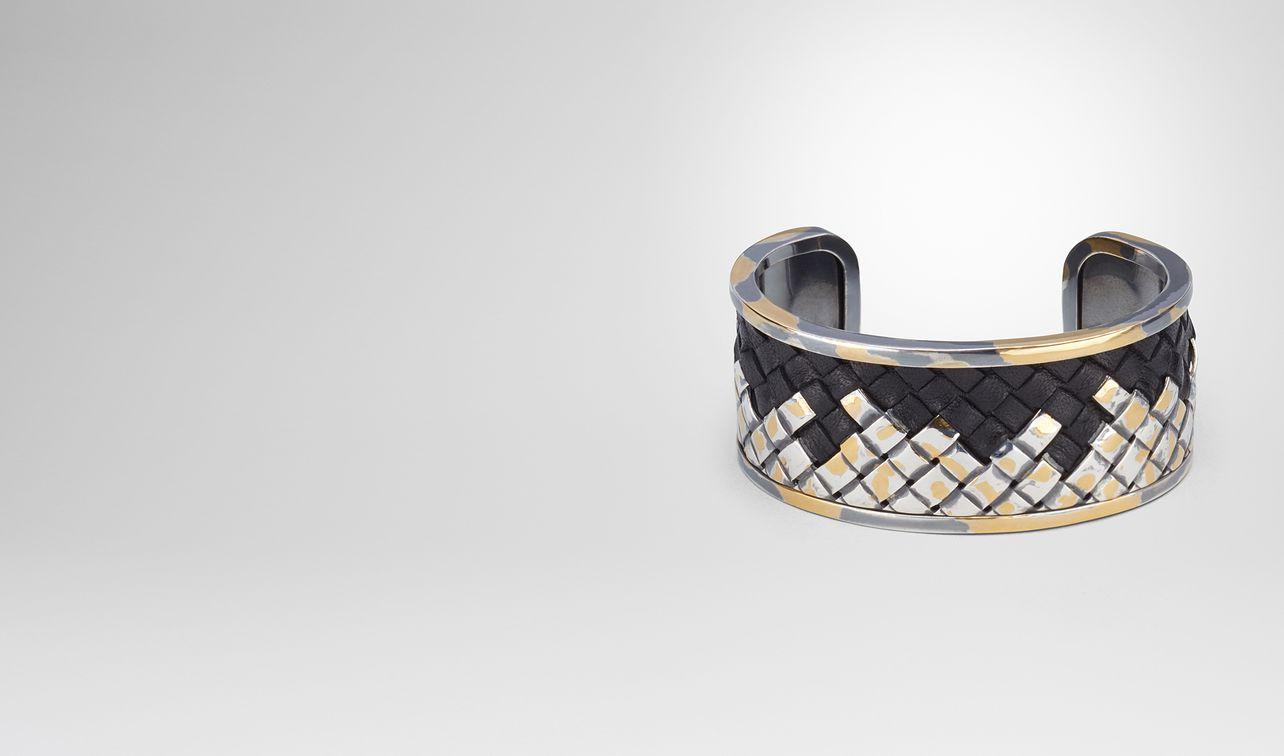 intrecciato silver bracelet landing