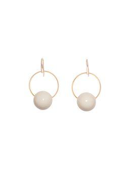 Marni Hook earrings in resin Woman