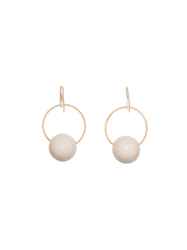 Marni Leverback earrings in resin Woman - 1