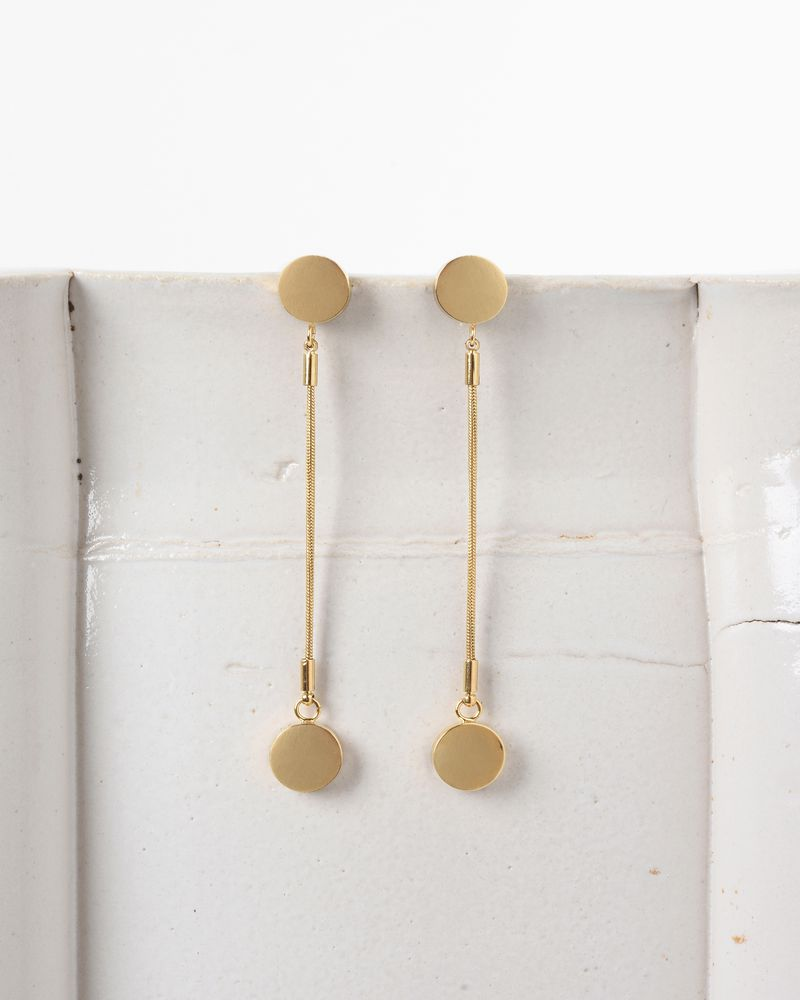 Gold Long Boo Boo Earrings Isabel Marant u1urw