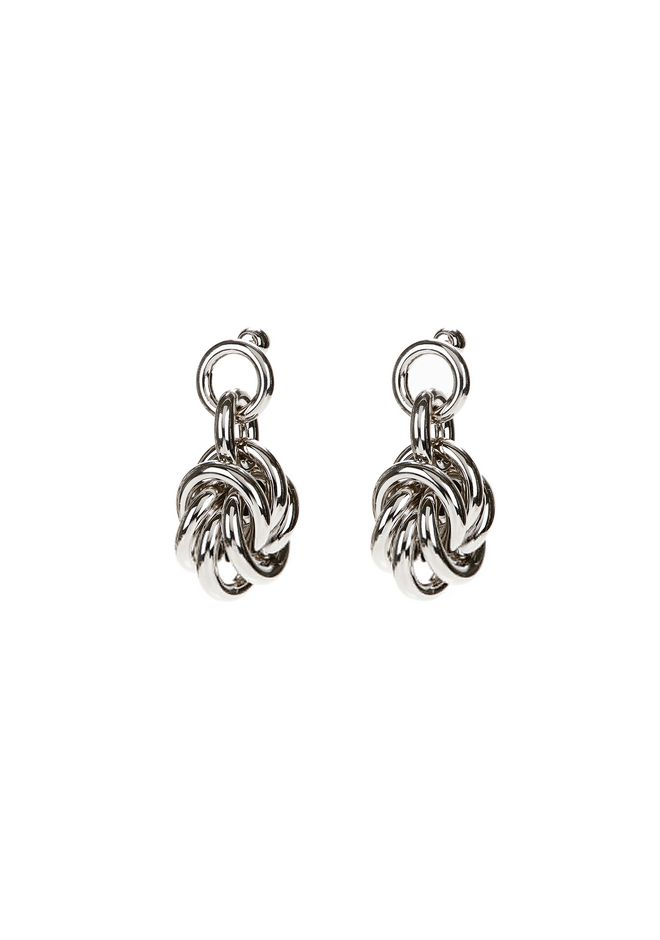 ALEXANDER WANG jewelry KNOT EARRINGS