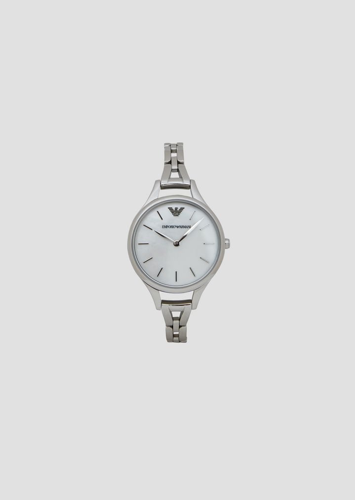 b4145c014dfb Reloj analógico de cuarzo en acero inoxidable