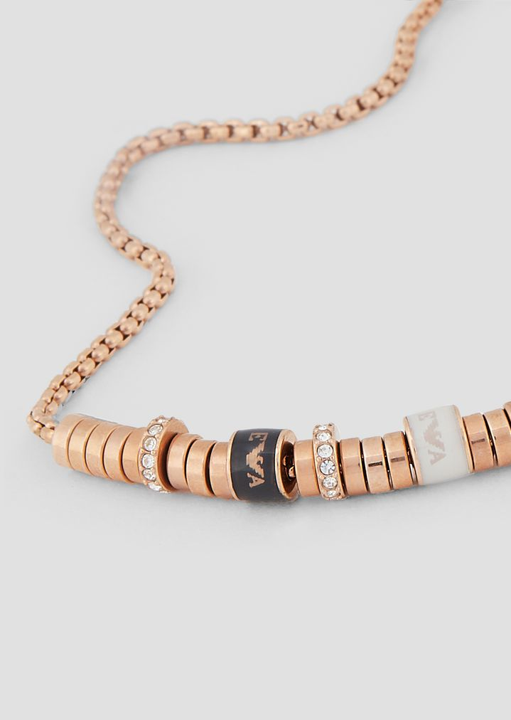 70aa765dfb Rose Gold Plated Stainless Steel Bracelet