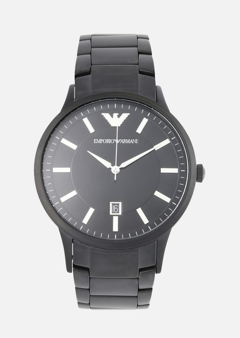 EMPORIO ARMANI Steel Strap Watch Man f