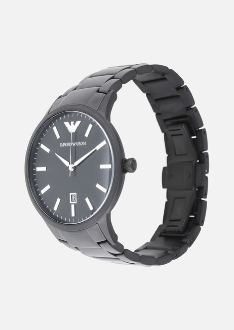 EMPORIO ARMANI Steel Strap Watch Man r