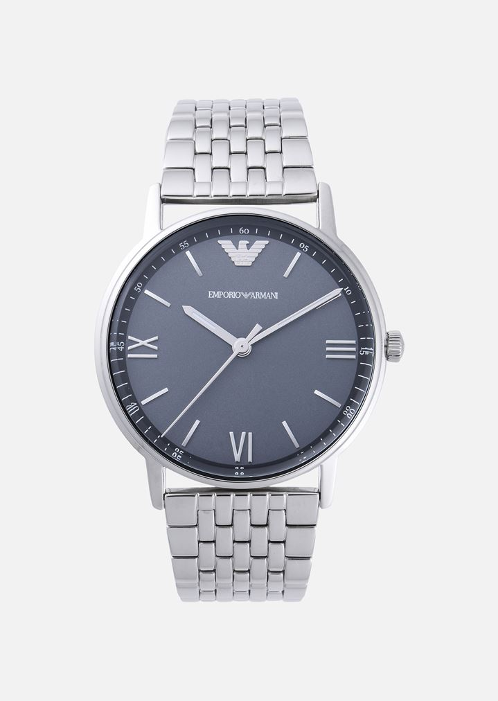 c8805a404398 ANALOGUE QUARTZ WATCH IN STAINLESS STEEL