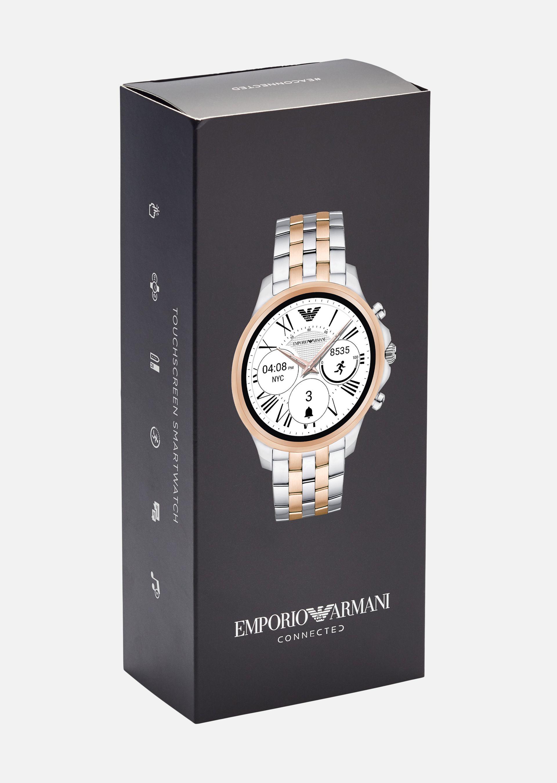 EMPORIO ARMANI Touchscreen Smartwatch 5001 Connected U a
