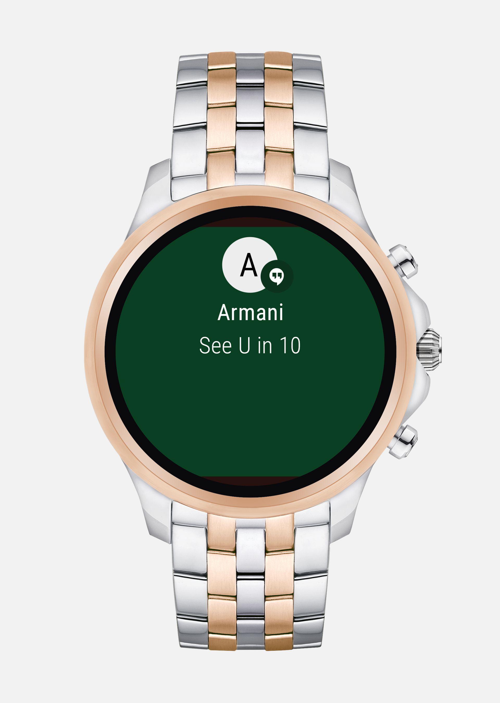 EMPORIO ARMANI Touchscreen Smartwatch 5001 Connected U r