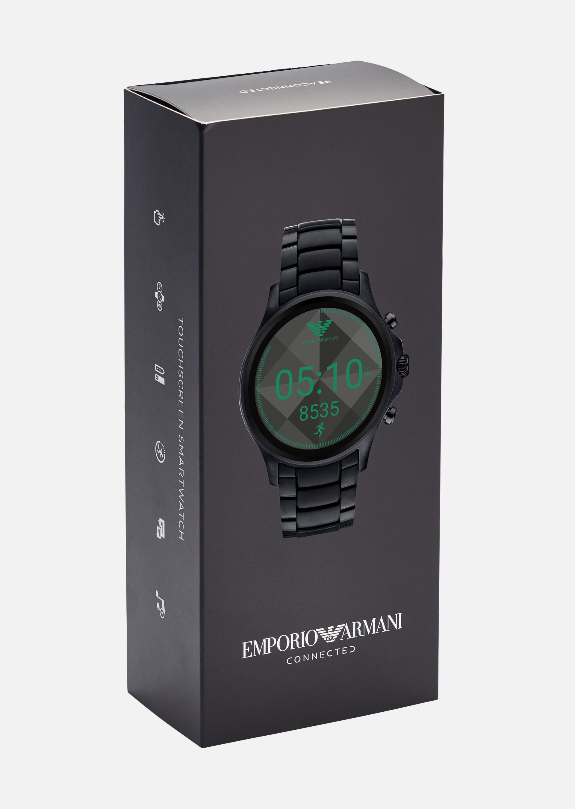 EMPORIO ARMANI SMARTWATCH TOUCHSCREEN 5002 Connected U a