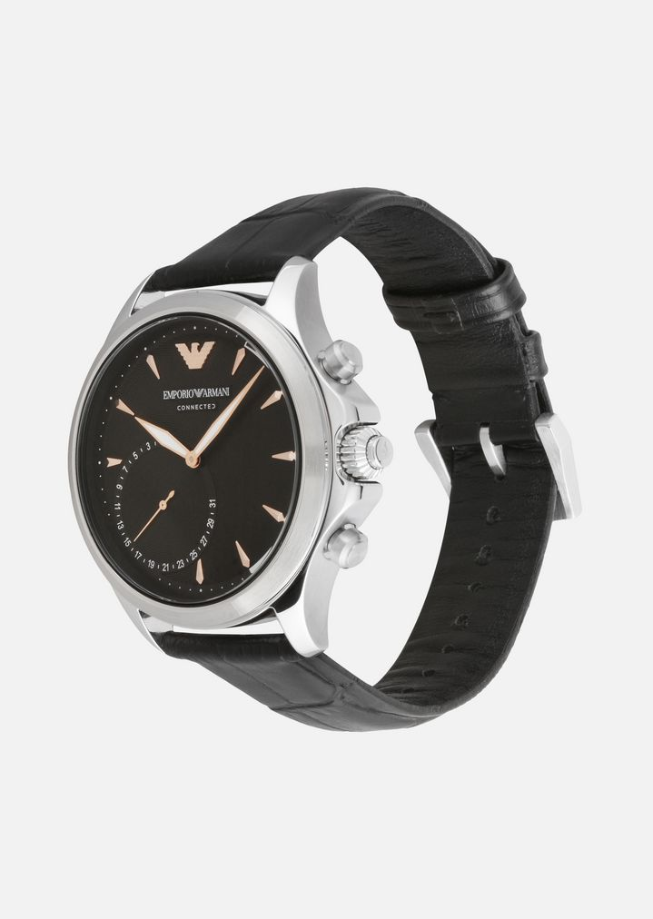EMPORIO ARMANI HYBRID SMARTWATCH ART3013  Hybrid Watch Man r