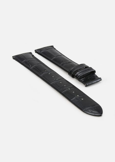 CROCO LEATHER STRAP FOR TOUCHSCREEN SMARTWATCH