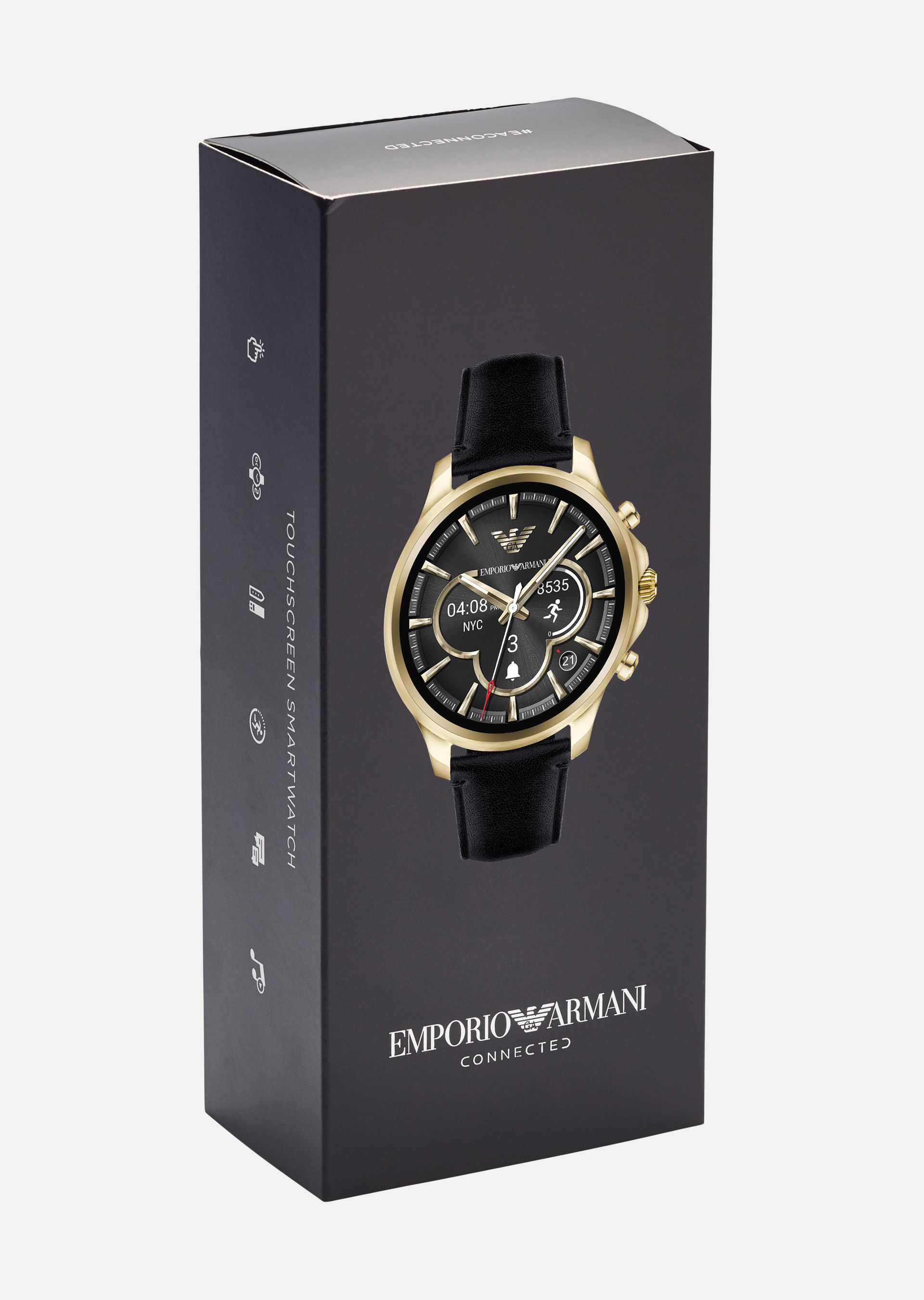 EMPORIO ARMANI SMARTWATCH TOUCHSCREEN 5004 Connected U a