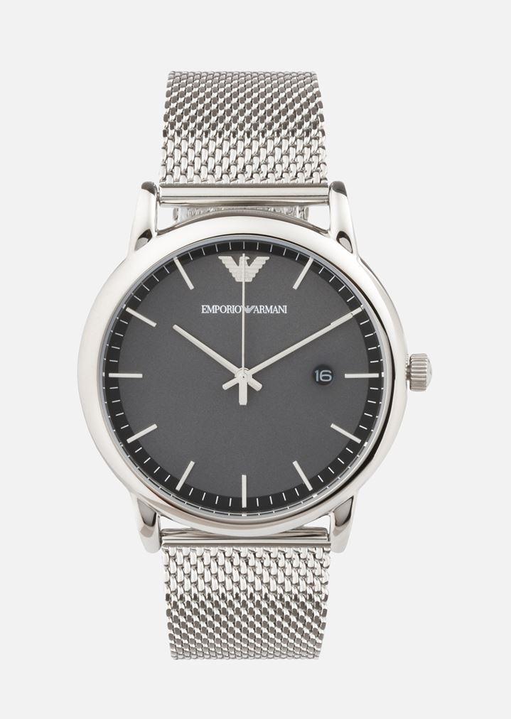 45d31b8b4 Reloj de cuarzo de acero inoxidable | Hombre | Emporio Armani