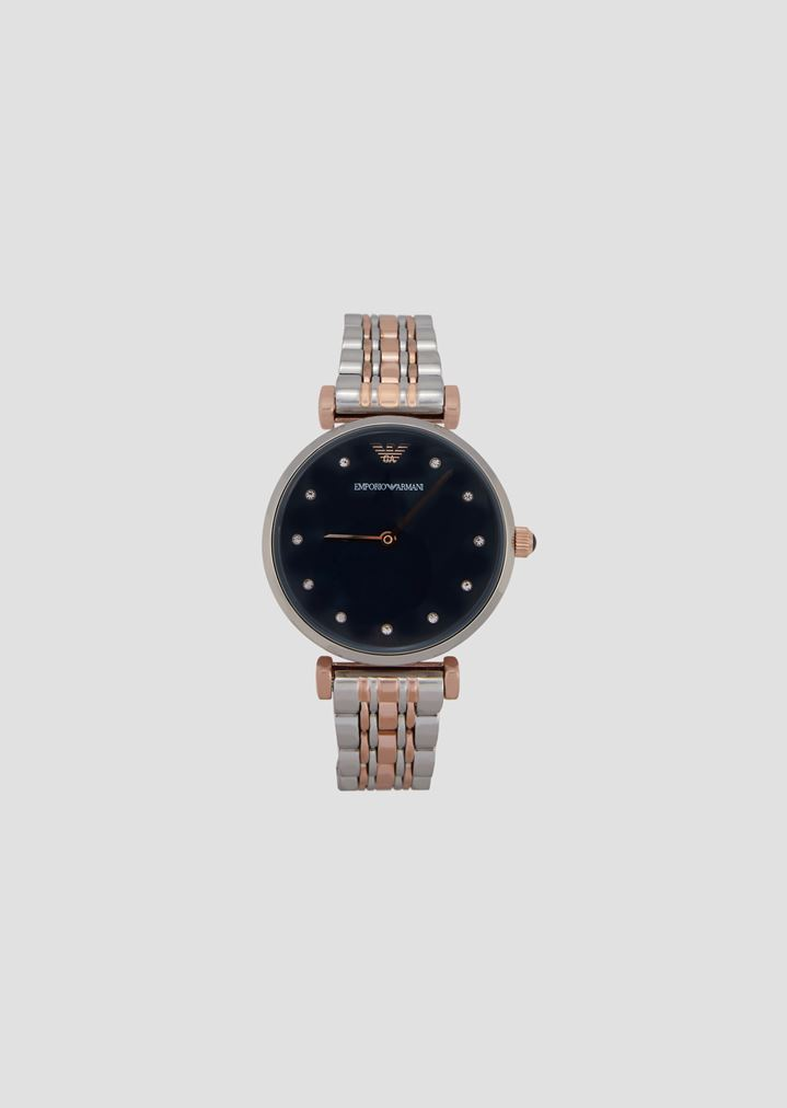 ce2fe08e991 11092 watch with two-tone strap