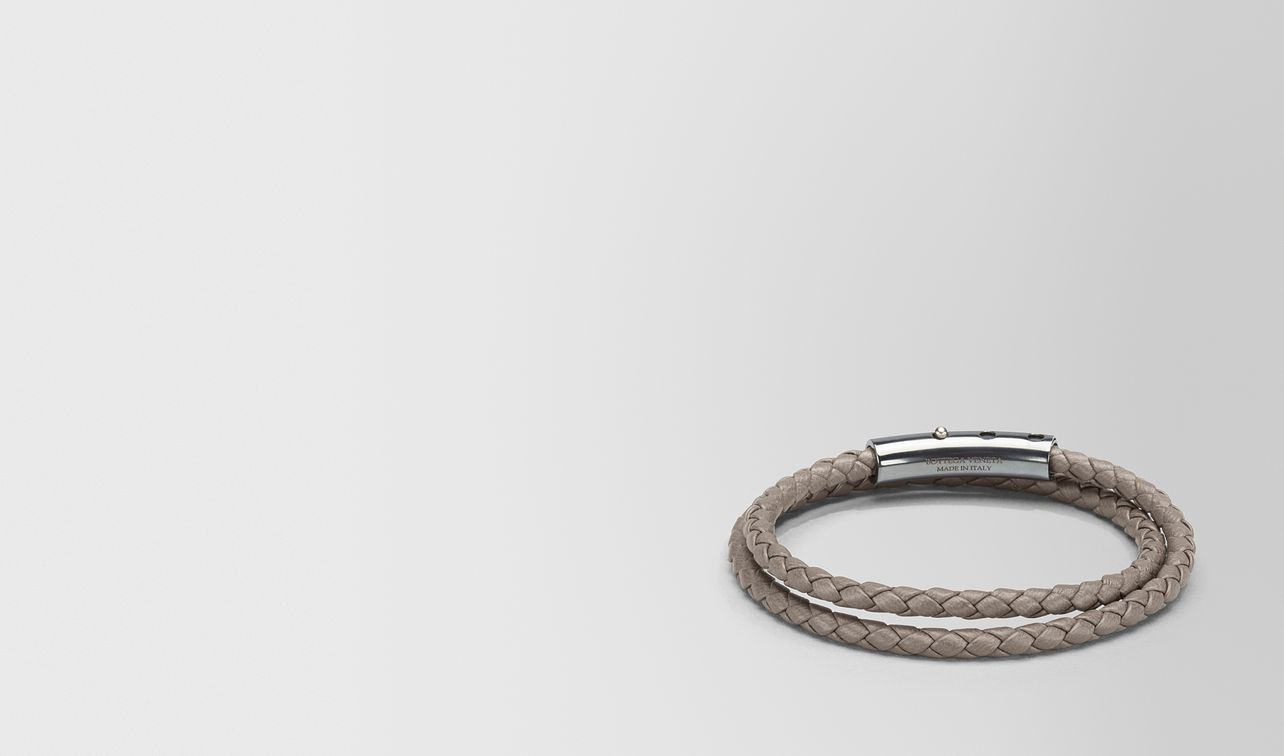 Bottega Veneta Steel bangle