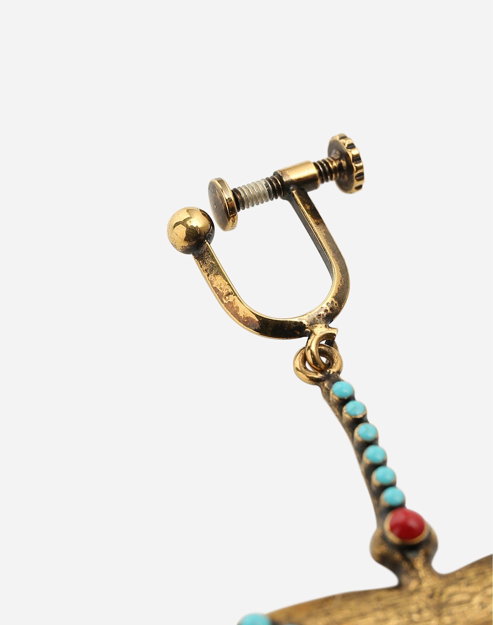 VALENTINO GARAVANI Hummingbird earrings Earrings D d