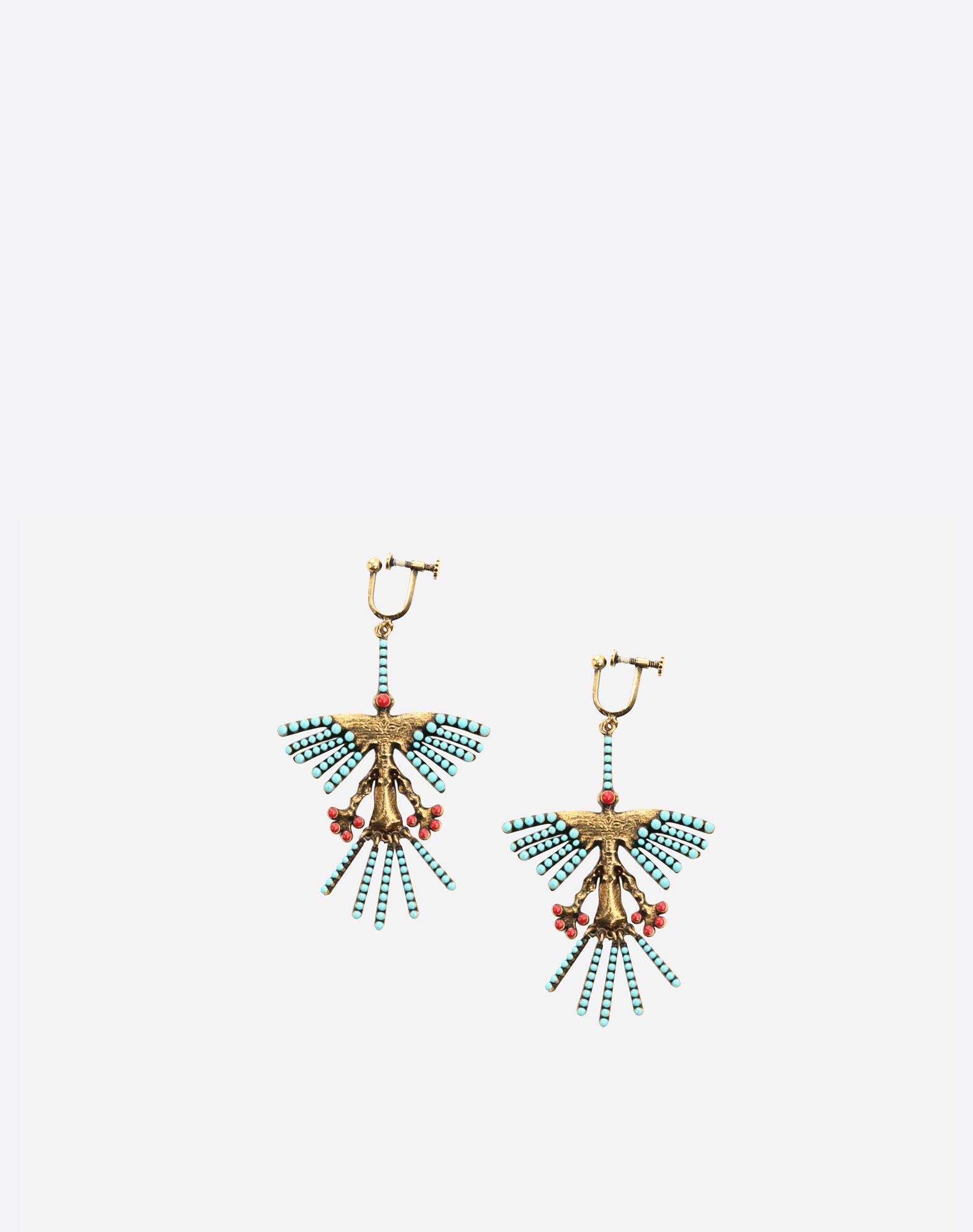 VALENTINO GARAVANI Hummingbird earrings Earrings D f