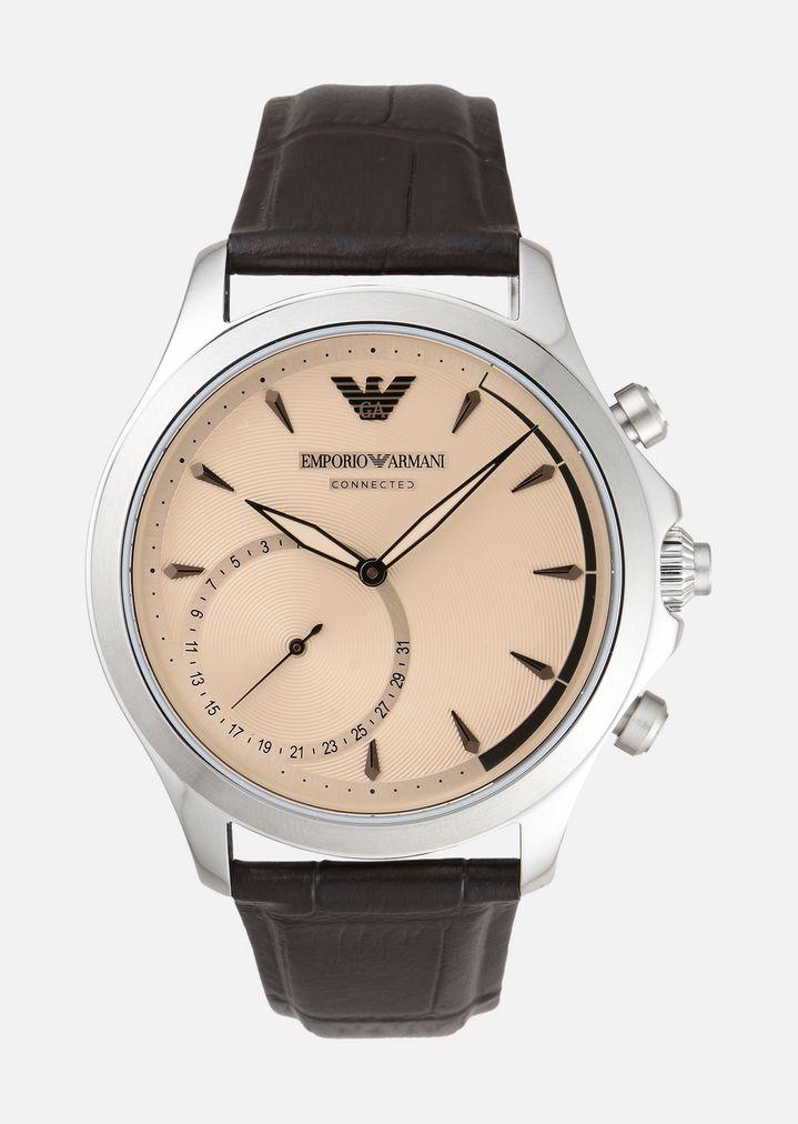 EMPORIO ARMANI 3014 Hybrid Smartwatch Connected Man f